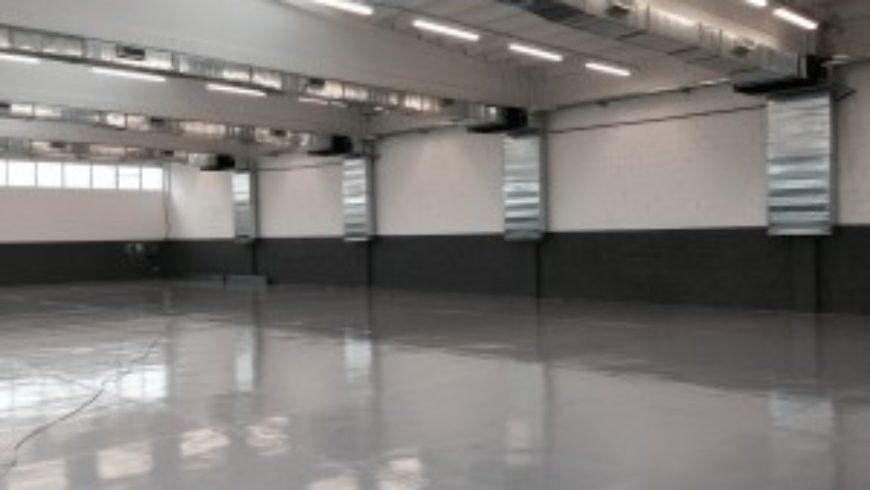 Impiantististica del nuovo magazzino della ATIM a Settimo
